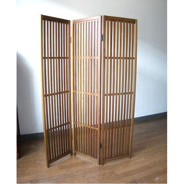 趣スクリーン 3曲 日本製 伝統工芸職人技術 木製 屏風 衝立