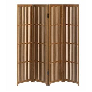 趣スクリーン 4曲 日本製 伝統工芸職人技術 木製 屏風 衝立 h01