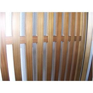 趣スクリーン 4曲 日本製 伝統工芸職人技術 木製 屏風 衝立 f04