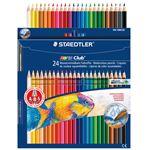 (まとめ) ステッドラー ノリスクラブ水彩色鉛筆24色 144 10NC24P【×2セット】