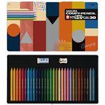 (まとめ) サクラクレパス クーピーペンシル 30色カラーオンカラー【×2セット】
