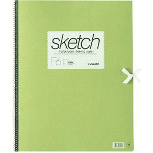 (業務用20セット) キョクトウ・アソシエイツ スケッチブック 画用紙 F6 SK966