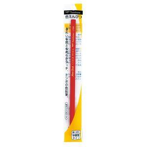 (業務用20セット) トンボ鉛筆 色鉛筆1500赤 5本組