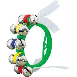 (まとめ) ゼンオン ハンドベル ZHB-50 GRE 緑【×20セット】 - 拡大画像