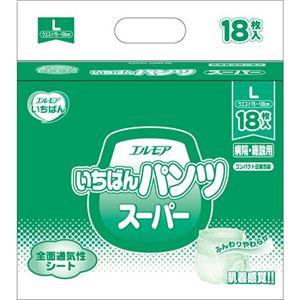 カミ商事 いちばんパンツスーパーL18枚×6P