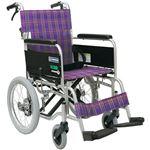 カワムラサイクル 車いすKA402SB-40 (A11:紫) 【非課税】