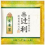 (まとめ) 片岡物産 辻利 三角バッグ 玄米茶 50バッグ入【×10セット】