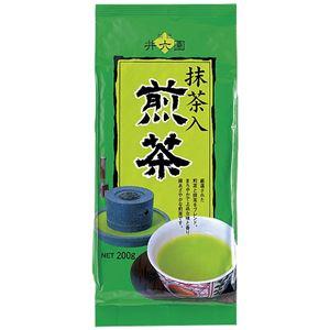 (まとめ) 井六園 井六園 抹茶入煎茶 200g/3袋【×3セット】 - 拡大画像