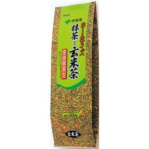 (まとめ)ホームサイズ抹茶入玄米茶 300g x5袋【×5セット】 - 拡大画像