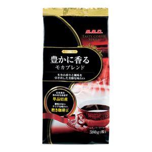 (まとめ) 三本コーヒー 味わい珈琲モカブレンド380gX5袋【×3セット】