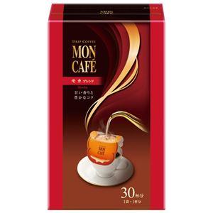(まとめ) 片岡物産 モンカフェ モカブレンド 30袋入1箱【×10セット】