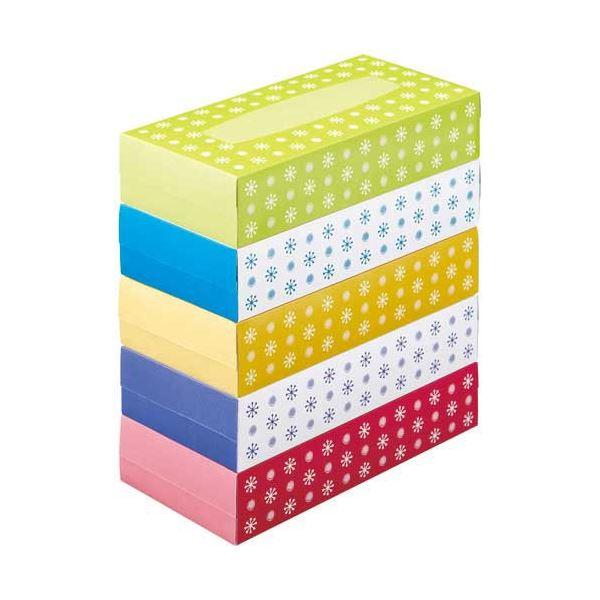 (まとめ) スマートバリュー ティッシュペーパー 60箱入 N042J-12P【×3セット】