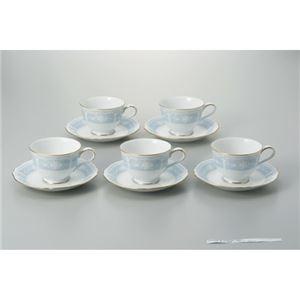 ノリタケカンパニーリミテッド コーヒー碗皿 レースウッド 5客セット