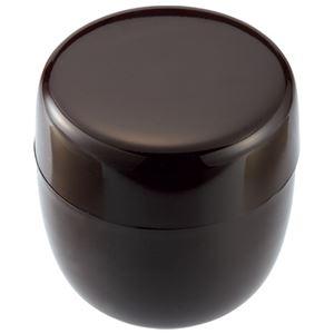 (まとめ) アサヒ興洋 茶筒 コゲ茶 内蓋付 TY16-21【×10セット】