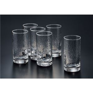 (まとめ) 東洋佐々木ガラス 生活の器タンブラー 6個セット【×5セット】