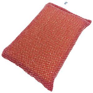 (まとめ) キクロン キクロンプロ タフネット 薄型 赤 N-300【×10セット】