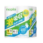 (まとめ) ネピア 激吸収キッチンタオル4ロール 100カット【×10セット】