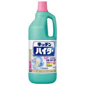 (まとめ) 花王 キッチンハイター 大 1500ml【×10セット】