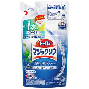 (まとめ) 花王 トイレマジックリン消臭洗浄スプレー 詰替【×30セット】