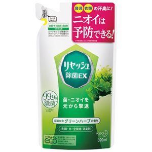 (まとめ) 花王 リセッシュEXグリーンハーブ詰替320ml【×10セット】