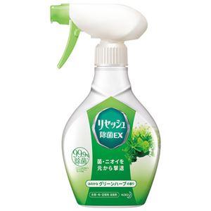 (まとめ) 花王 リセッシュEXグリーンハーブ本体370ml【×10セット】