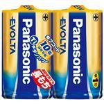 (まとめ) Panasonic 単1エボルタ 2個LR20EJ/2SE【×10セット】