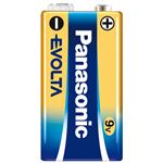 (まとめ) Panasonic 乾電池エボルタ9V形 6LR61EJ/1S【×10セット】