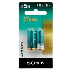 (まとめ) ソニー アルカリ単5 2本入り LR1SG-2BHD【×30セット】
