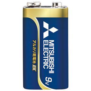 (まとめ) 三菱電機 乾電池 6LF22EXD/1S 9V【×10セット】