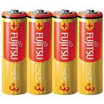 (まとめ) 富士通 アルカリ乾電池LongLife単3形4個 LR6FL(4S)【×30セット】
