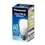 (まとめ) Panasonic 電球型蛍光灯 D60形 昼光色 EFD15ED11E【×10セット】