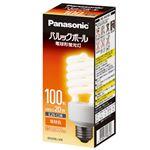 (まとめ) Panasonic 電球型蛍光灯 D100形 電球色 EFD25EL20E【×5セット】