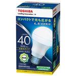 (まとめ) 東芝ライテック LED電球 広配光40W 昼白色 LDA4N-G-K/40W【×10セット】