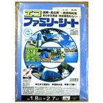 (まとめ) 萩原工業 エコファミリーシート#3000 1.8m×2.7m【×10セット】