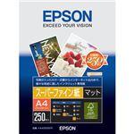 (まとめ) エプソン スーパーファイン紙 KA4250SFR A4 250枚【×5セット】