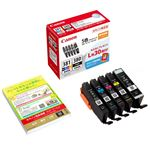 (まとめ) キヤノン インクカートリッジBCI-381+380/5MP 5色【×3セット】