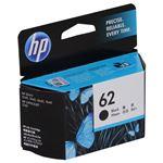 (まとめ) HP インクHP62 C2P04AAブラック【×5セット】