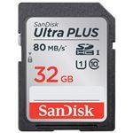 (まとめ) サンディスク SDカード 32GB SDSDUSC-032G-JNJIN【×3セット】