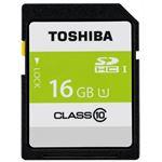 (まとめ) 東芝 SDHCメモリカード 16GB SDAR40N16G【×5セット】
