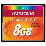 (まとめ) トランセンド コンパクトフラッシュ 8GB TS8GCF133【×3セット】