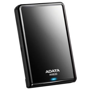 ADATA ポータブルHDD 500GB AHV620-500GU3-CBK