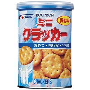 (まとめ) ブルボン 缶入ミニクラッカー 24缶入【×3セット】 - 拡大画像
