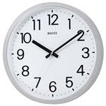 (まとめ) リズム時計 フラットフェイスDN 4KGA06DN19【×5セット】