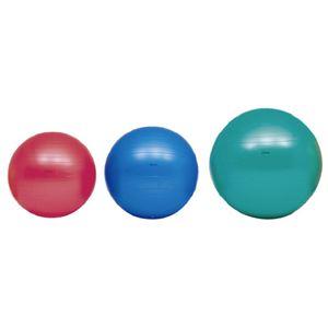 (まとめ)ボディーボール55cm 赤 H7261【×2セット】 - 拡大画像