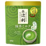 (まとめ)辻利 抹茶ミルク 200g【×5セット】