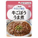 (まとめ)やさしい献立 牛ごぼううま煮(6袋入)【×5セット】