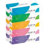 (まとめ)大王製紙 エリエール ティッシュー 5箱【×10セット】