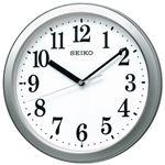 (まとめ)セイコークロック セイコー 電波掛時計 KX256S【×2セット】