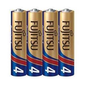 (まとめ)富士通アルカリ乾電池PremiumS 単4形 4本【×10セット】 - 拡大画像