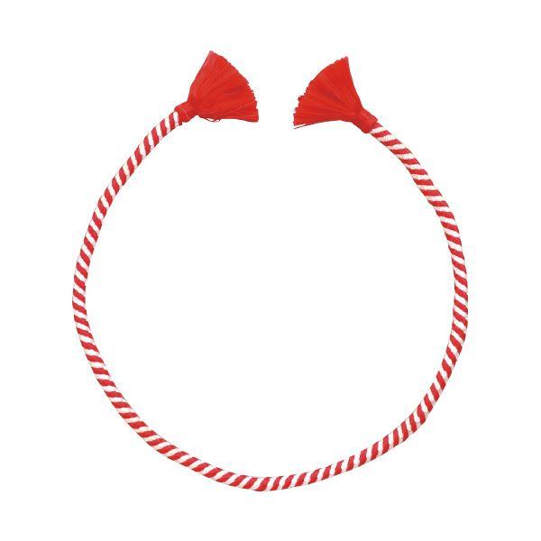 (まとめ)アーテック かんたんねじりはちまき 赤/白【×30セット】